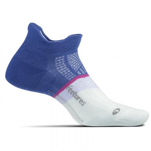 Calcetines Running Feetures Max Cushion Azul