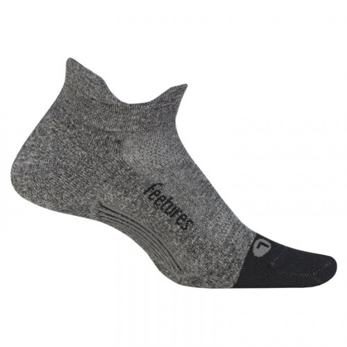 Calcetines Running Feetures Ultra Light No Show Gris