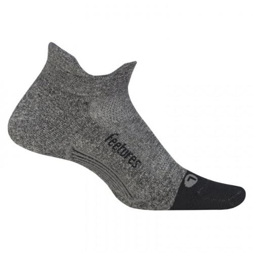 Calcetines Running Feetures UltraLight NoShow Gris