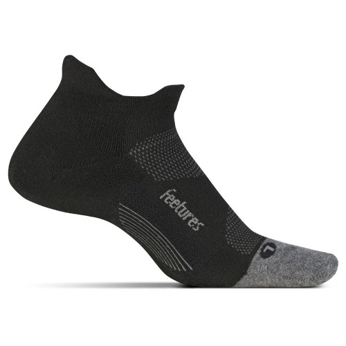 Calcetines Running Feetures Max No Show Negro