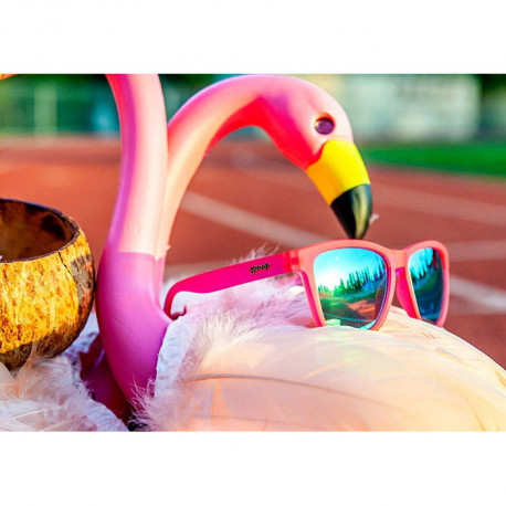 Lentes Goodr Running Flamingos On A Booze Cruise Rosa
