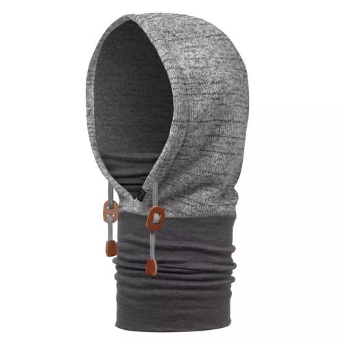 Gorro Buff Outdoor Polar Thermal Hoodie Gris