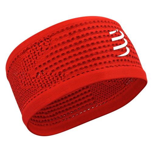 Headband Compressport Running On/Off Rojo