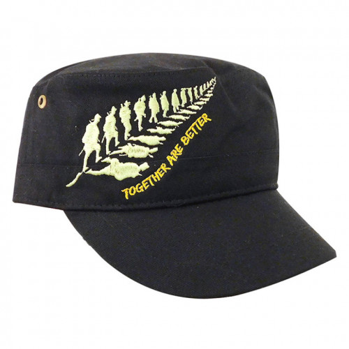 Gorra Wallis Campismo Together Are Better Negro