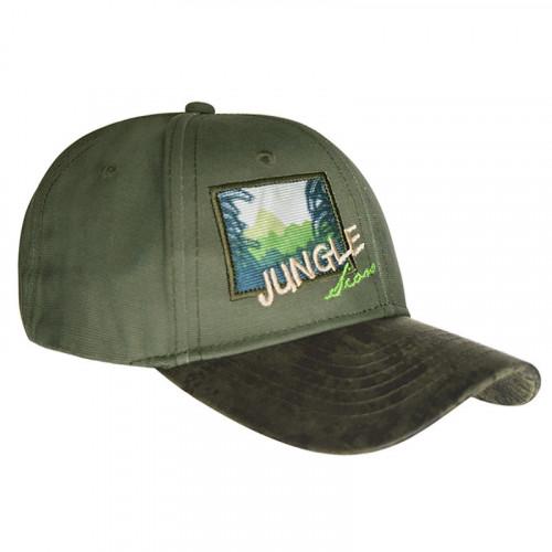 Gorra Wallis Campismo Jungle Verde