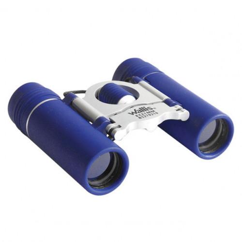 Binoculares Wallis Campismo Compacto Tipo Tejado 8 x 21 mm Azul