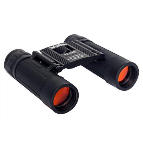 Binoculares Wallis Campismo Tipo Tejado 12 x 25 mm Negro