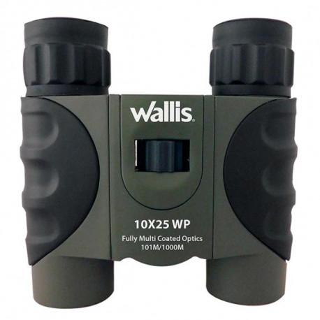 Binoculares Wallis Campismo Tipo Tejado Waterproof 10 x 25 mm Multicolor