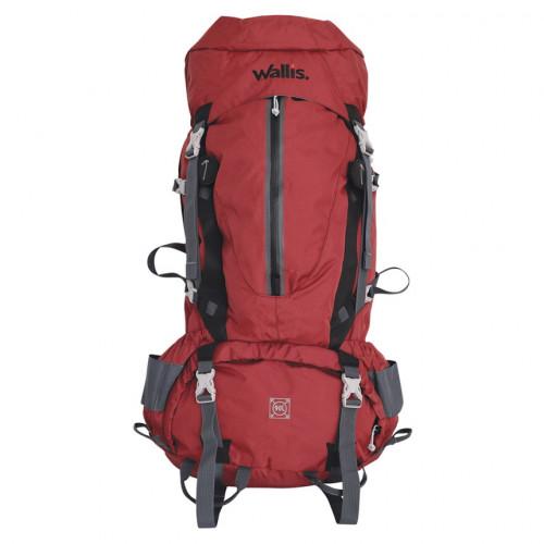 Mochila Wallis Campismo Kala Pathar Alta Montaña 90 L Rojo