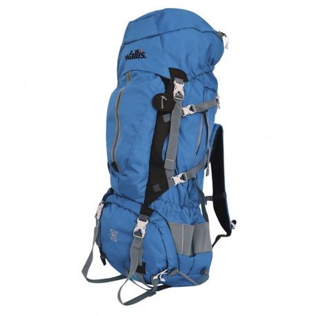Mochila Wallis Campismo Kala Pathar Alta Montaña 90 L Azul