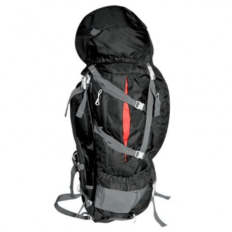 Mochila Wallis Campismo Kala Pathar Alta Montaña 90 L Negro