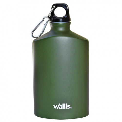 Botella Wallis Campismo Aluminio 500 ml Verde
