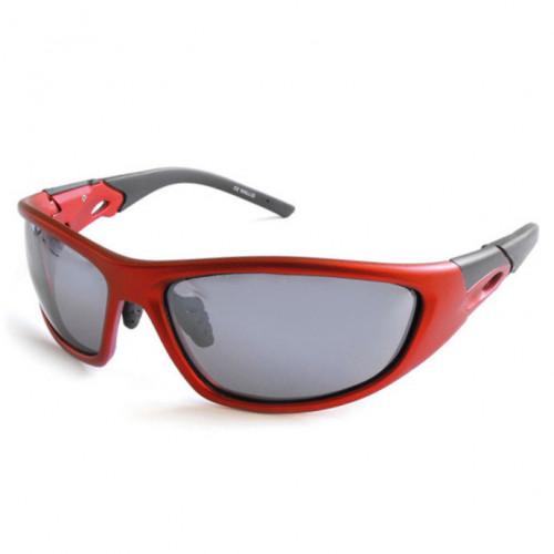 Lentes Wallis Campismo Proteccion UV 400 Rojo