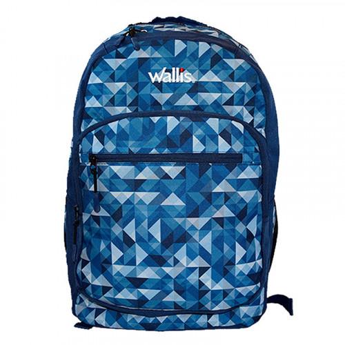 Mochila Wallis Lifestyle Fun Para Laptop Azul Kids