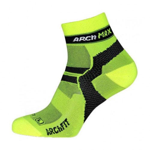 Calcetines Running Arch Max Archfit Ungravity Short Amarillo