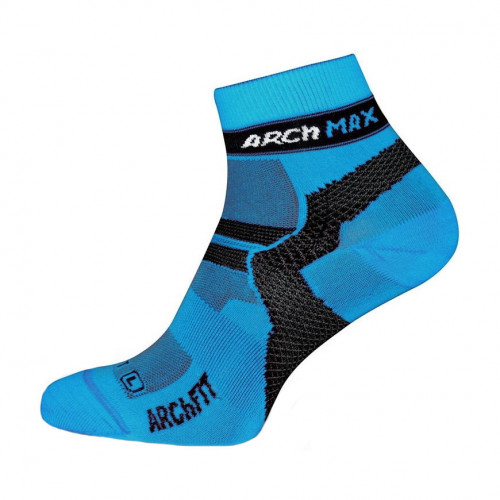 Calcetines Running Arch Max Archfit Ungravity Short Azul
