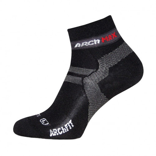 Calcetines Running Arch Max Archfit Ungravity Short Negro