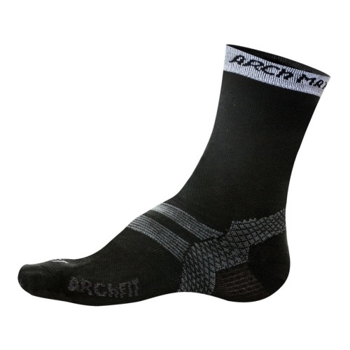 Calcetines Trail Running Arch Max Archfit Trail Medium Negro