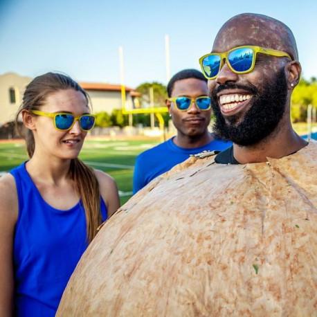 Lentes Goodr Running Swedish Meatball Hangover Amarillo
