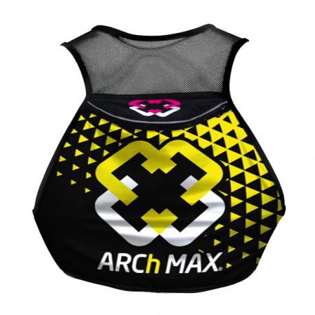 Chaleco de Hidratacion Running Arch Max Hydration Vest 12 L Amarillo