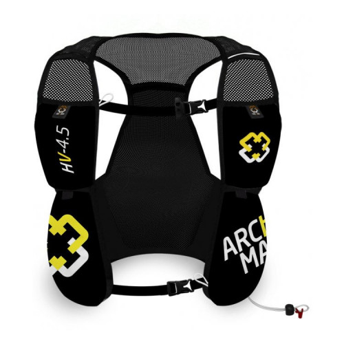 Chaleco Running Arch Max Hydration Vest 4.5 L Negro Mujer