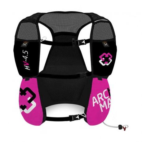 Chaleco de Hidratacion Running Arch Max Hydration Vest 4.5 L Rosa Mujer