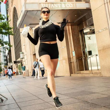 Lentes Goodr Running Breakfast Run To Tiffany's Negro