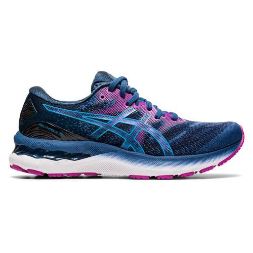 Tenis Running Asics Gel-Nimbus 23 Azul Mujer