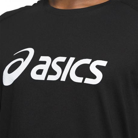 Playera Asics Fitness Triblend Training SS Negro Hombre
