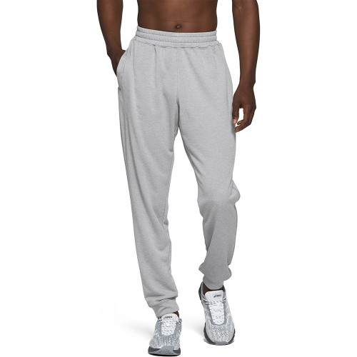 Pants Asics Fitness French Terry Gris Hombre