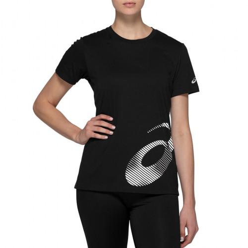 Playera Asics Fitness Core Train Graphic Negro Mujer