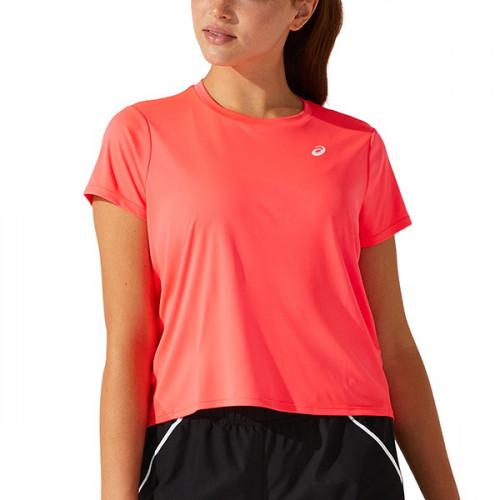 Playera Tennis Asics SS Rosa Mujer