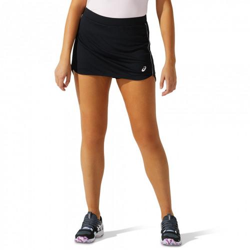 Skort Tennis Asics Padel Negro Mujer