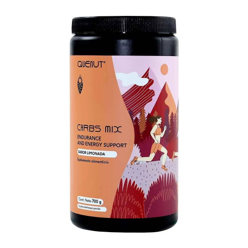 Carbs Trail Running Quenut Carbs Mix - Endurance and energy support Limonada Naranja