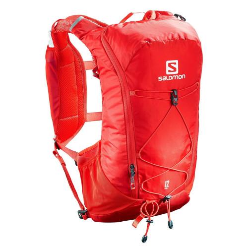 Mochila de Hidratacion Salomon Outdoor Agile 12 Set Rojo