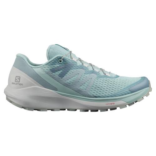 Tenis Salomon Trail Running Sense Ride 4 Azul Mujer