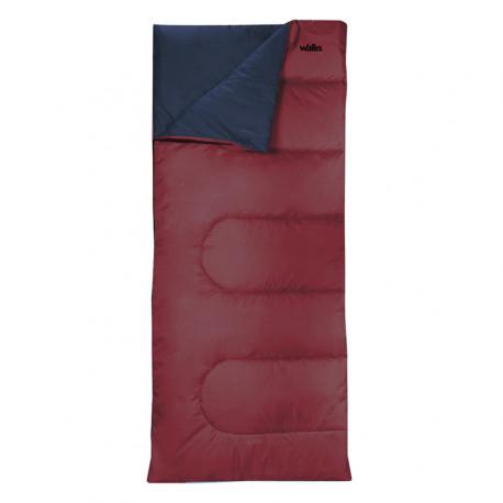 Sleeping Bag Wallis Campismo Envelope 300 Rojo