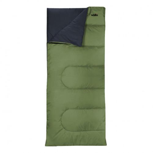 Sleeping Bag Wallis Campismo Envelope 300 Verde