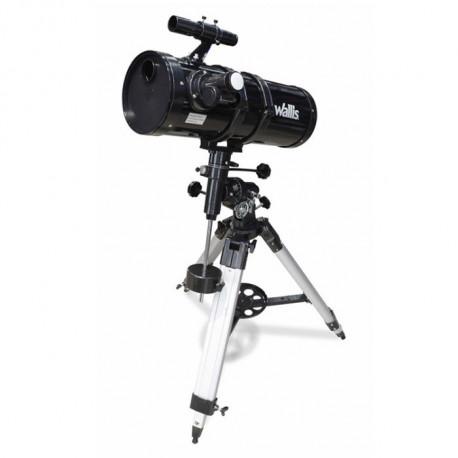 Telescopio Wallis Campismo Reflector con Montura Ecuatorial 430X Negro