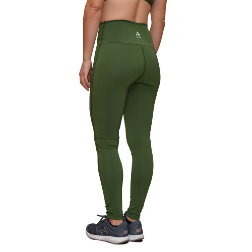 Leggings Fitness Azuid High Waist Verde Mujer