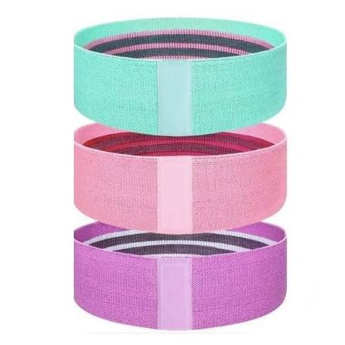 Banda KIUI Fitness 3 piezas Resistencia Multicolor