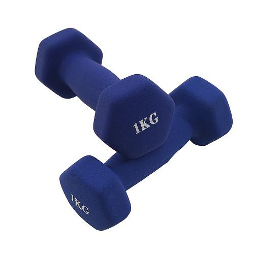 Mancuerna Fitness & Training KIUI 2 Piezas 1 kg Azul
