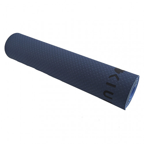 Tapete KIUI Yoga Doble Color TPE Eco Friendly 6mm Azul