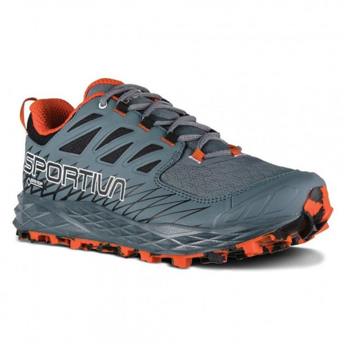 Tenis Trail Running La Sportiva Lycan GTX Gris Mujer