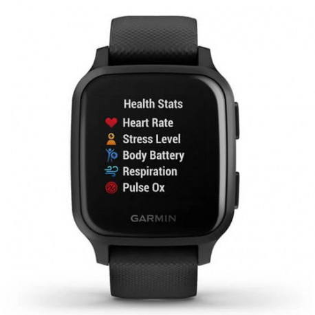 Reloj Garmin Wellness Venu SQ Music Edition Gris