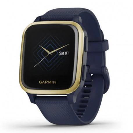 Reloj Garmin Wellness Venu SQ Music Edition Azul