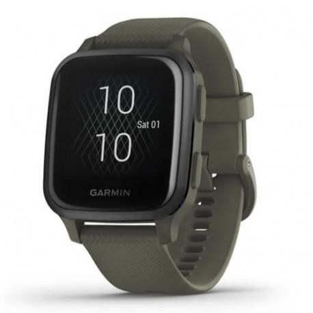 Reloj Garmin Wellness Venu SQ Music Edition Verde