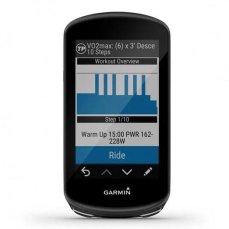Ciclocomputadora Garmin Ciclismo Edge 1030 Plus Bundle Negro