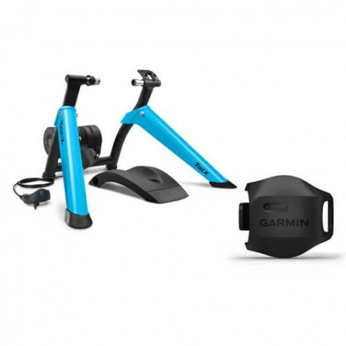 Entrenador Tacx Ciclismo Boost Bundle Azul