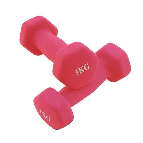 Mancuerna KIUI Fitness 2 Piezas 1 kg Rojo